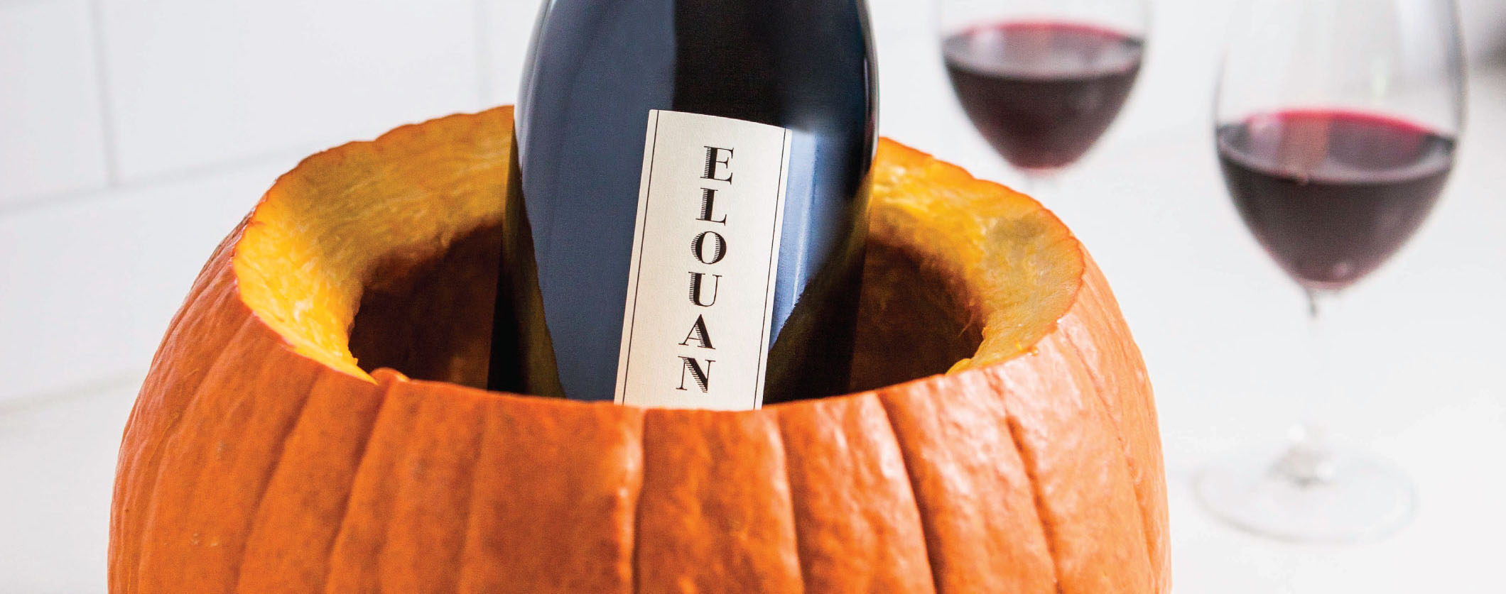 PUMPKIN WINE CHILLER
